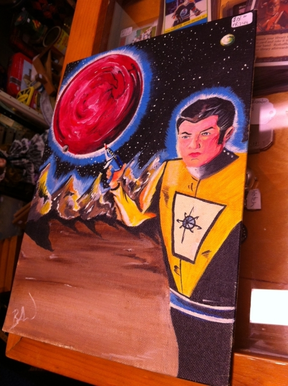 Campbellford Camp cosmonaut Painting